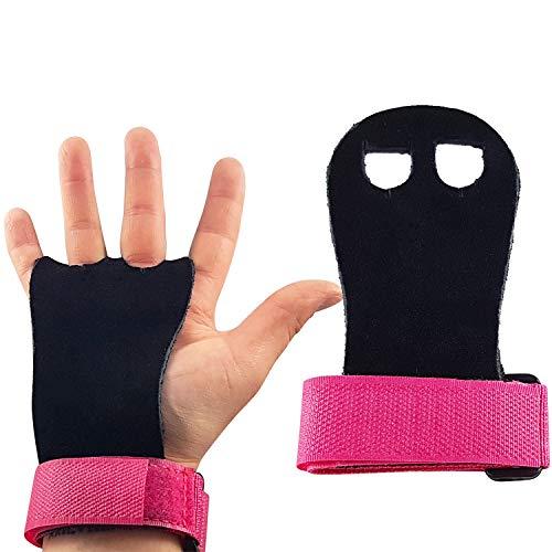 CZ Store®-✮Marque Française✮-Paire de manique Gym Enfant/Adulte-✮Garantie A Vie✮- Gants Gym en Cuir en Cuir|4 Tailles 2 Couleurs|Protection Paumes pour Exercice Traction/Crossfit/Barre/Gymnastique