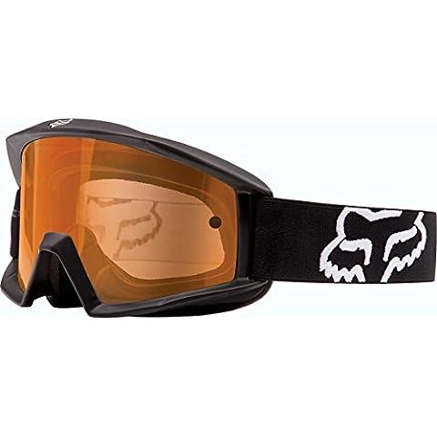Fox Main Enduro MX MBT occhiali nero opaco con vetro