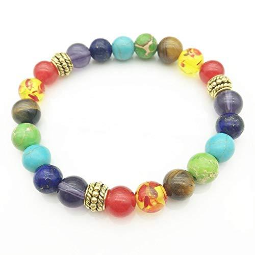 JUWOJIA Wild Fashion Perlen Energie Tigerauge Perlen Hand -