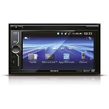Sony XNV-KIT602EI Kit con XAV-602BT Autoradio 2DIN con Lettore DVD, Schermo touch da 6,1 Pollici, Aux In, USB, Bluetooth e XA-NV300T Unità di navigazione TomTom, Nero