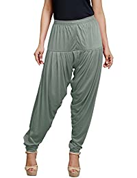 Goodtry Women's patiyala Free Size-Grey