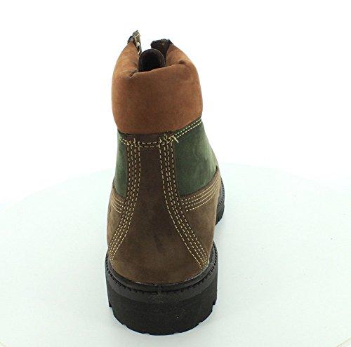 Timberland 6in Premium Boot Dark Rubber CA19SM, Stivali Marron