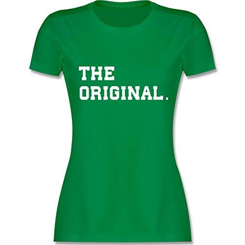 Shirtracer Partner-Look Familie Mama - The Original The Remix Eltern - Damen T-Shirt Rundhals Grün