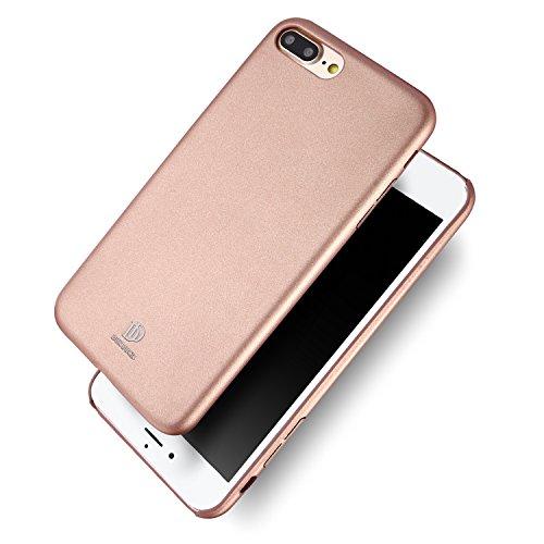 Galleria fotografica Cover Custodia iPhone 7 Plus 5,5'' Ecco Pelle PU, Slim Sottile Interno TPU Morbido, Case Premium Protezione Posteriore Flessibile DUX DUCIS (Rosa)
