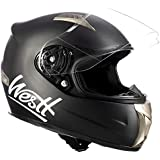 Westt Casco Moto Integral - Storm Negro Mate ECE