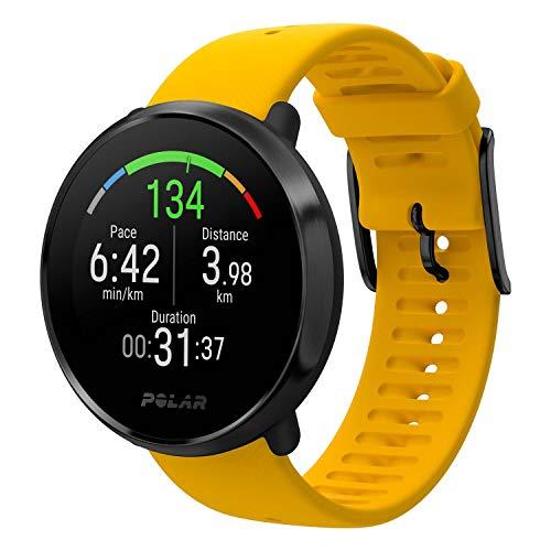 41xIM2Nh2uL. SS500  - POLAR Ignite Fitness Watch with Advanced Wrist-Based Optical Heart Rate Monitor, Training Guide, GPS, Waterproof