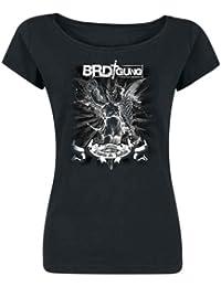 BRDigung - Zwischen Engeln und Teufeln Girlie-Long-Shirt mit Rückendruck