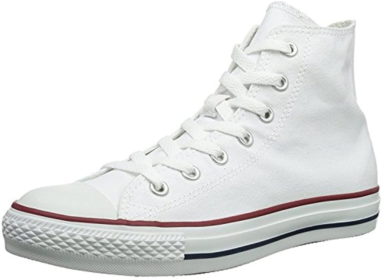 Converse Women's All Star Hi Top Optical White Shoes M7650