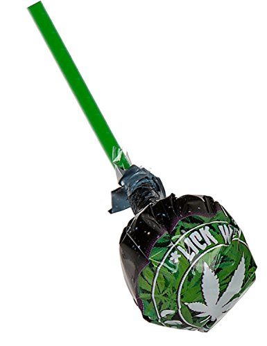 *Hanflollie Cannabis-Geschmack Hanf-Geschmack Lolly Lutscher (5 Stk)*