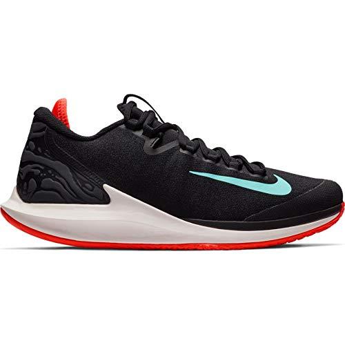 Nike Air Zoom Zero - Scarpe da Tennis da Uomo, Nero (Black/Aurora Green/Phantom), 40.5 EU