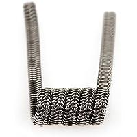 10 PCS Demon Killer Prebuilt Bobina, Super Kanthal A1 Coil Violence Heating Wire para RBA/RDA / RTA Rebuildable Atomizadores, Vape Coil
