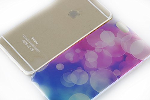 Etsue Doux Case Etui pour iPhone 6/6S 4.7 Pouces,Silicone Souple Blu-ray Case Cas Coque de Protection TPU pour iPhone 6/6S 4.7 pouces,Laser Cut Reflect Bleu Light Soft Gel TPU Case pour iPhone 6/6S 4. Blu-ray 2#