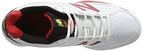 New Balance Ck4030r2, Chaussures de Cricket Homme Blanc - Blanc