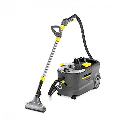 Kärcher Puzzi 10/2 Adv Drum vacuum cleaner 1250W Negro, Gris - Aspiradora (Drum vacuum cleaner, Húmedo, Profesional, Alfombra, Suelo duro, Negro, Gris, Agua)
