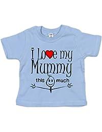 IiE, I Love my Mummy this much, Novelty Baby Boy T-shirt