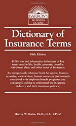 Dictionary of Insurance Terms (Barron's Business Dictionaries)