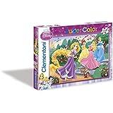 Clementoni 29660.6 - Puzzle 250T. Rapunzel with princess
