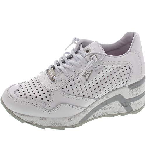 Cetti C-1143 SRA - Damen Schuhe Sneakers - Sweet-Blanco, Größe: