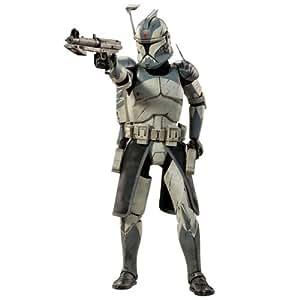 Star Wars The Clone Wars figurine 1/6 Clone Commander Wolffe 30 cm