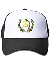 Rbfqfm Guatemala Flag Adjustable Mesh Caps Hat For Kids