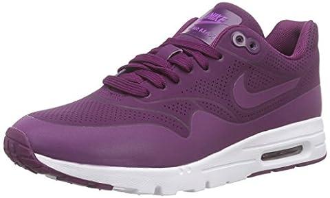 Nike Air Max 1 Ultra Moire, Running femme - Violet - Violett (Mulberry/Mlbrry-Purple Dsk-White),