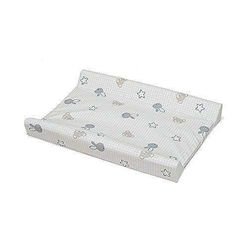Foppapedretti Bunny & Co Matelas à langer avec revêtement en PVC, 72 x 50 x 9 cm