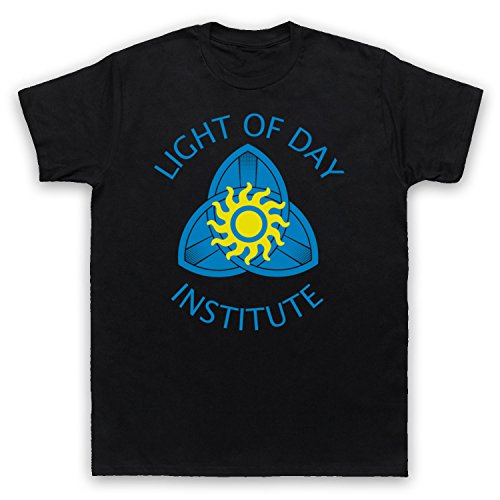 Inspiriert durch True Blood Light Of Day Institute Unofficial Herren T-Shirt Schwarz