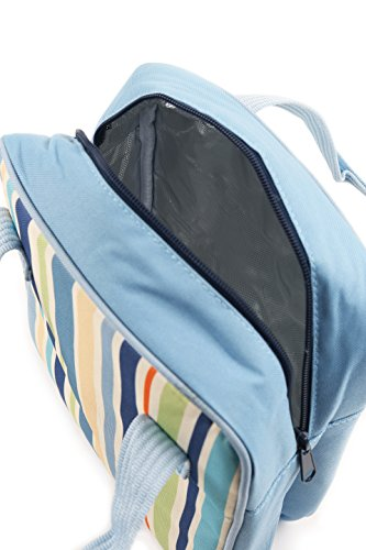Greenfield Collection Sky Blue 5 Litre Cool Bag