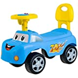 Baybee Stylesh Ride On Car With Music | Push Car Ride On Toy Suitable Kids For 1 To 3 Years - Blue