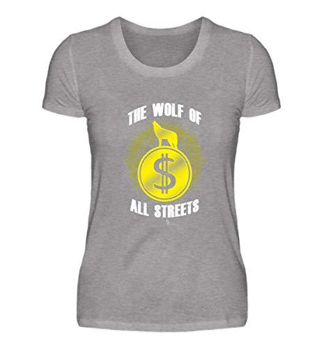 The Wolf of All Streets Dolar USD Geld US-Dolar Kurs Exchange Rate Geschenk Geschenkidee - Damen Premiumshirt - Exchange Geld Rate