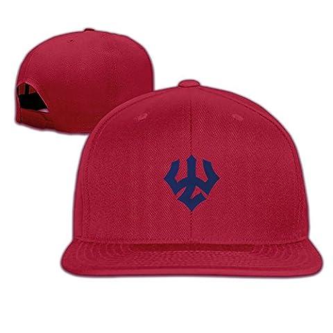 Unisex Adjustable Washington And Lee University Baseball Cap Snapback Hip Hop Flat HatRed