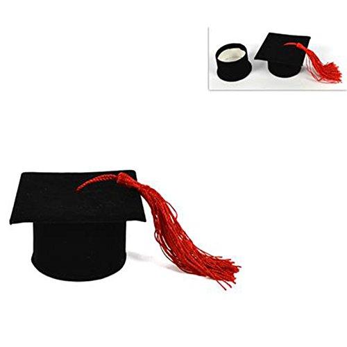 Bomboniera a forma di scatola con cappello per la laurea  1703a2fa648a