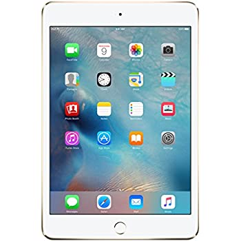 Apple iPad mini 4 128GB Oro - Tablet (Apple, A8, M8, No compatible, Flash, 2048 x 1536 Pixeles)