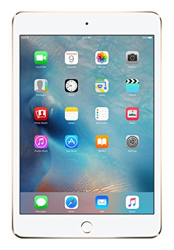 "Apple iPad mini 4, 7,9"" Display, Wi-Fi, 128 GB, 2015, Gold"