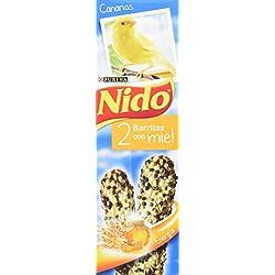 Nido Barritas Con Miel para Alimentación de Canarios - 45 g
