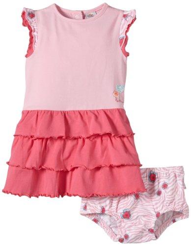 S.Oliver Baby - Mädchen Kleid 65.405.82.3355, Einfarbig, Gr. 74, Rosa (Purple/Pink)