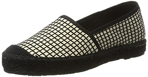SELECTED FEMME Sfmarley Geometric, Espadrilles Femme Blanc (White)