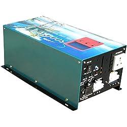 Version Mise à Jour Convertisseur Pur Sinus 5000w/20000w Peak onduleur 12V à 220V Onde sinusoïdale Pure Power Inverter,Convertisseurs électriques/UPS/Chargeur de Batterie 80A,Version Mise à Jour,AS3