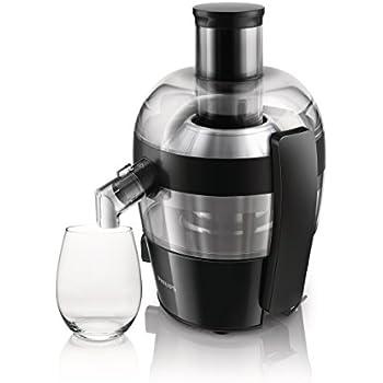 Philips HR1861 Whole Fruit Juicer - Aluminium: Amazon.co.uk: Kitchen & Home