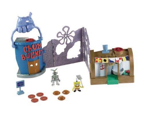 Fisher-Price imaginext Schwamm Bob Du Spielset (Chum Bucket Spongebob)