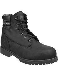 OutdoorLook - Calzado de protección para hombre, color negro, talla 45.5