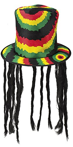 Rasta Hut Mit Dreadlocks - Boland 82013 Hut Rasta mit Dreadlocks,