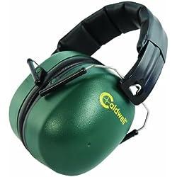 Caldwell Range Muffs 33 Cascos, Verde, Talla Única