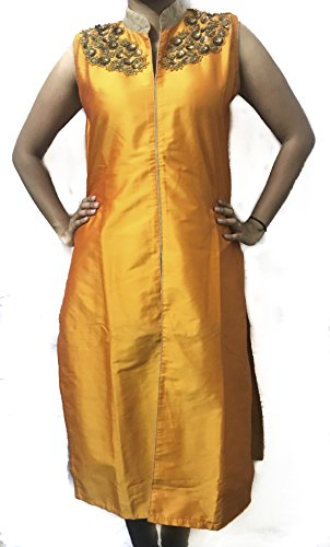 Mustard colour kurti