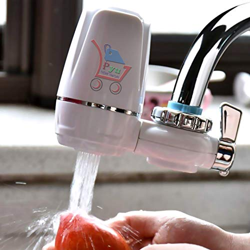 P YUTM® Tap Guard Water Purifier Faucet Tap Kitchen & Wash Basin Water Filter