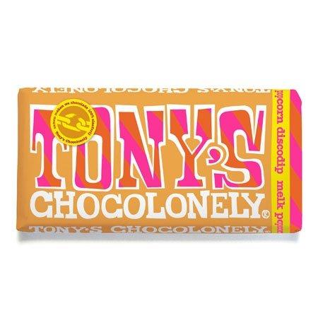 Preisvergleich Produktbild Tonys Chocolonely 'Melk popcorn discodip 3 x 180g