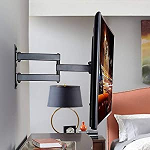 "AlexVyan TV LCD LED Wall Mount Stand 14 to 42"" (14 16 18 22 26 32 40 42 inch)180 Degree Rotatable Bracket for TV of Sony LG Samsung Micromax Lloyd Panasonic Bravia Phillips Yu Hier Videocon etc"