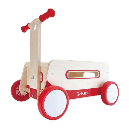 Hape Wunderbarer Holzwagen Lauflernwagen Lauflernhilfe Puppenwagen