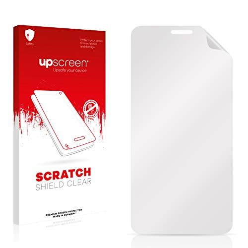 upscreen Scratch Shield Schutzfolie für Alcatel One Touch OT-6012E – Kristallklar, Kratzschutz, Anti-Fingerprint
