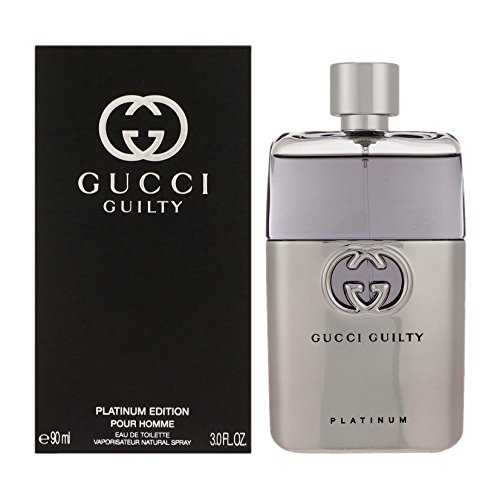 Gucci Guilty pour Homme Platinum Edition homme/man, Eau de Toilette Spray, 90 ml